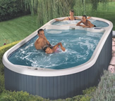 Dimension One AquaFit Swim Spas