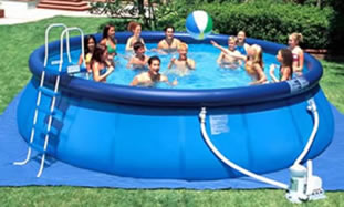 Easy Set Above Ground Portable Swimming Pool
